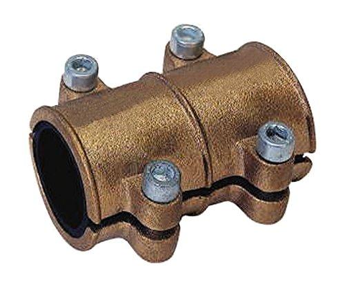 Gebo 16049 0 - Fascetta di tenuta per tubo in rame, 28 mm, in ottone