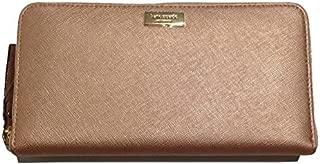 Kate Spade Newbury Lane Neda Clutch Wallet Rose Gold Saffiano Leather WLRU1498