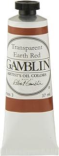 Gamblin Artist Oil 37Ml Trans Earth Red