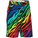 Royal & Awesome Wild Ones Patterned Mens Golf Shorts