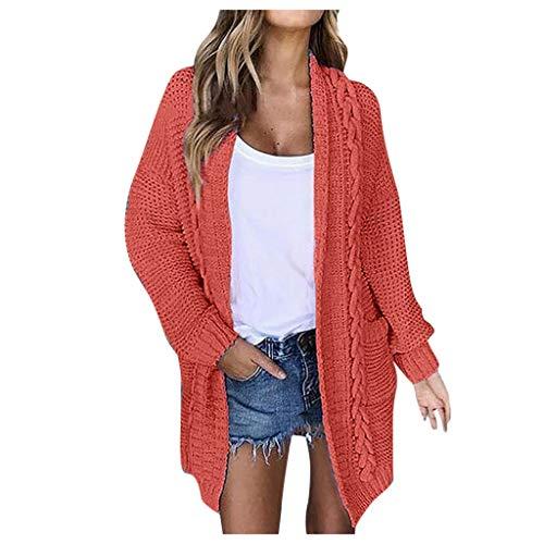 Find Discount Muranba◕ᴗ◕ Women Casual Long Sleeve Cardigan Autumn Striped Loose Outwear Cardig...