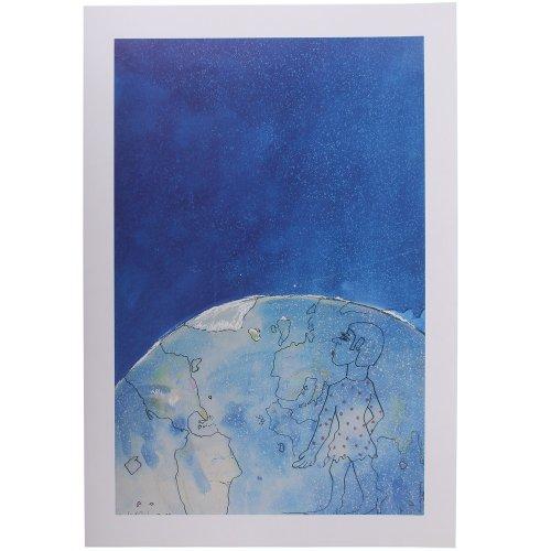 Udo Lindenberg - Katja im Kosmos - Kunstdruck