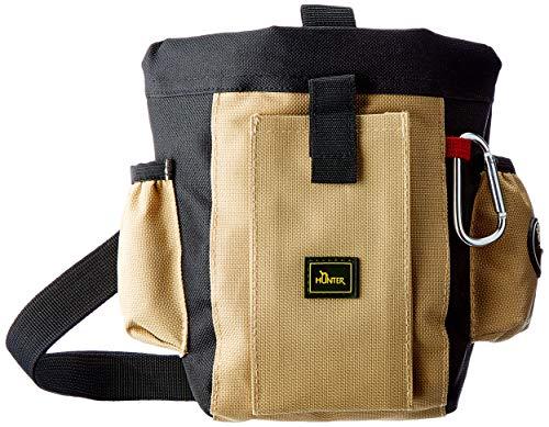 Hunter Belt Bag Professional / Belt Bag / Gr. L / noir / beige / Dimensions 22cm x 18,5 cm