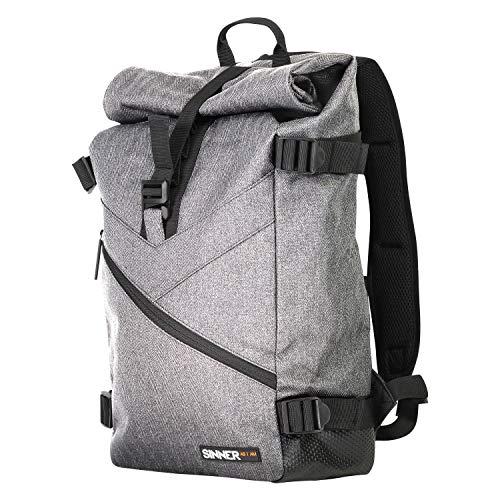 SINNER 25L Rugzak voor Dames en Heren - Kwalitatief Roll Top en Robust Materiaal - Ruime Rugtas en Maximaal Draagcomfort - Flexibele Backpack voor Alledaags Gebruik