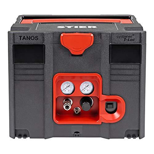 STIER Systainer Kompressor SKT 160-8-6, ölfrei, 1.100 W Motorleistung, SysMaster kombinierbar mit anderen Systainern, Druckluft, Mobiler Kompressor - 2