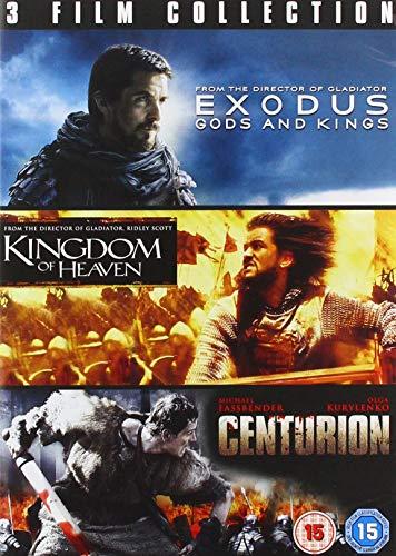 Exodus / Kingdom Of Heaven / Centurion [Edizione: Regno Unito] [DVD]