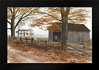 Old Country Road 24x17 Framed Art Print by Jacobs, Billy