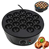 Household Takoyaki Maker Machine Octopus Ball Mini Electric Baking Pan Breakfast Machine 220‑240V (UK Plug)