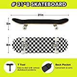 Zoom IMG-1 benewell tavola da skateboard completa