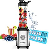 Personal Blender, Sboly Smoothie Blender Single Serve Small Blender for Juice Shakes and Smoothie...