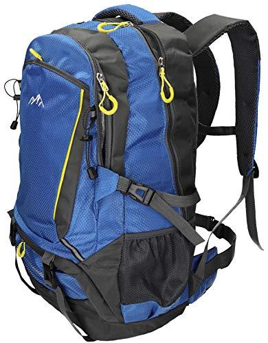 BETZ Mochila Unisex para Viaje Senderismo Camping Tiempo Libre Capacity I con 4 Bolsillos Volumen de 33 litros Color Azul