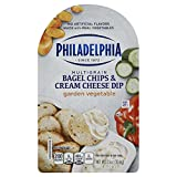 Garden Vegetable Bagel Chips and Cream Cheese Dip Important - Refrigerated items are perishable and tend to have short shelf lives - some of these can be as little as two weeks from the date of receipt - if you are ordering a large quantity, or are o...