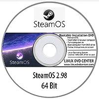 SteamOS Linux 2.0 GNOME Desktop (64Bit) - Bootable Linux Installation DVD
