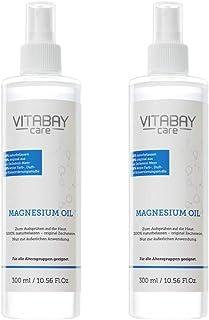 Original Zechstein magnesiumolja - magnesiumkloridspray - dermatologiskt testad - 2 x 300 ml