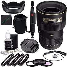 Nikon AF-S NIKKOR 16-35mm f/4G ED VR Lens + 77mm 3 Piece Filter Set (UV, CPL, FL) + 77mm +1 +2 +4 +10 Close-Up Macro Filter Set with Pouch + Lens Cap + Lens Hood + Lens Cleaning Pen Bundle