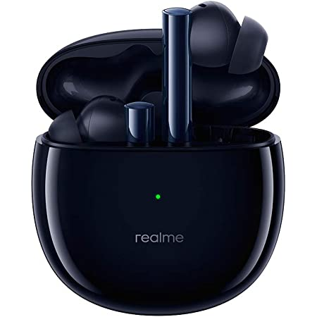 realme Buds Air 2 with Active Noise Cancellation (ANC) Bluetooth Headset (Closer Black, True Wireless)