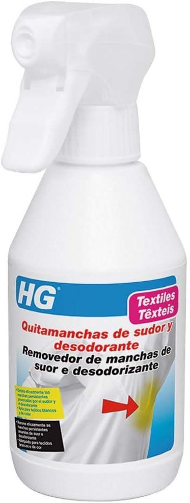 HG 634025130 - Eliminador manchas sudor y desodorante (envase de 0,25l)