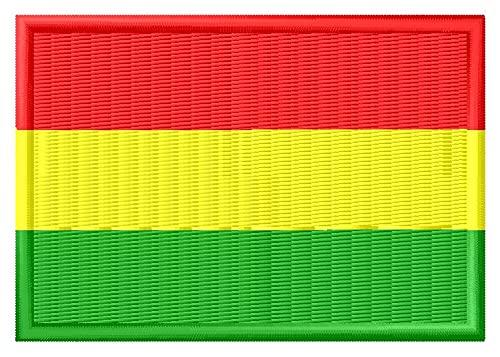 Flagge Bolivien Aufnäher Parche Bordado Brodé Patch écusson Toppa Ricamata