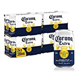 Corona Extra Mexican Lager Beer Cans, 24 x