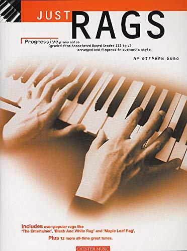 Just Rags: Progressive Piano Solos Grades III - V. Für Klavier & Gitarre(mit Akkordsymbolen)