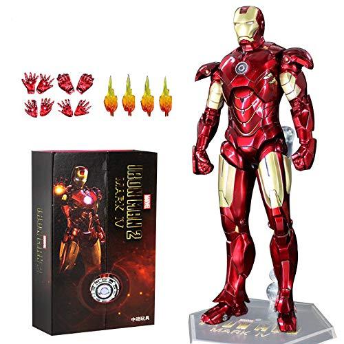 ZT 10° Anniversario 7 Pollici Deluxe Collector Iron Man MK4 Action Figure