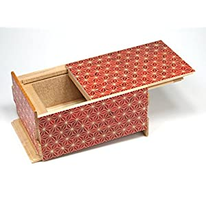 Japanese Puzzle Box 21+1steps 5sun Akaasa
