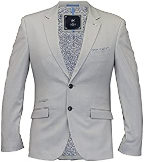 Cavani Mens Blazer Coat Dinner Suit Jacket Formal Wedding Party Fashion Lined
