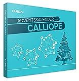 Franzis- Calendario dell'Avvento per Calliope, Controllo di Slitta di Natale Elettronica, dai 14 Anni in su, Multicolore, 55121-4