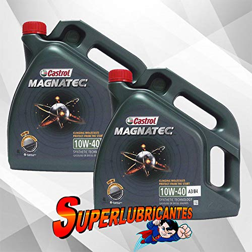 Mundocoche Castrol Magnatec 10W40 A3/B4 2x4L (8Litros)