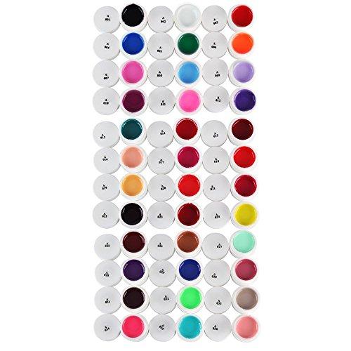 Décoration Pour Ongles Nail Art 36 Couleurs/Set UV Gel Lazulite Acrylique Poli À Retirer 5ml by DELIAWINTERFEL