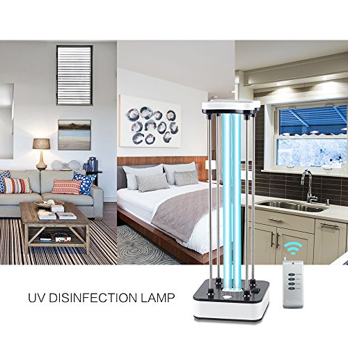 UV-Licht Sterilisator Desinfektionsmittel Tragbar 36W UV-Sterilisator Desinfektion Lampe Fachmann Haushalt UV-C Ultraviolett Ozon Germizid Lampen Mit Fernbedienung