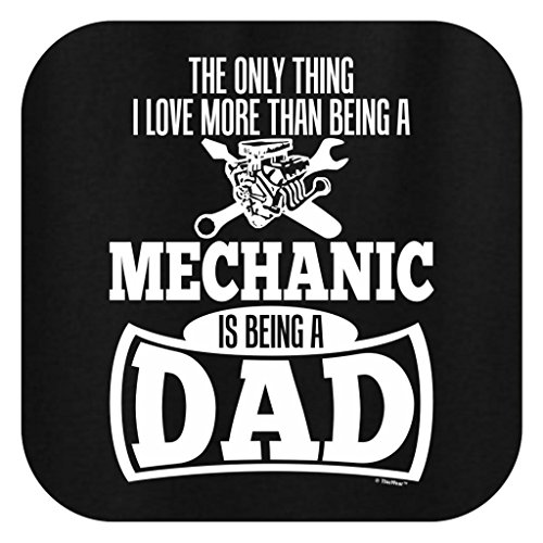 Product Image 2: Only Thing Love More Than Being a Mechanic is a Dad T-Shirt Medium Black