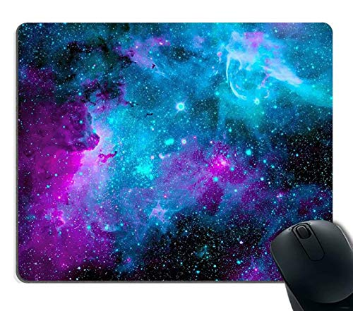 Mouse Pad Galaxy Customized Rectangle Non-Slip Rubber Cute Desk Decor Mousepad Gaming Mouse Pad Mouse Pads Gaming Mousepad Mat for Home and Office Work
