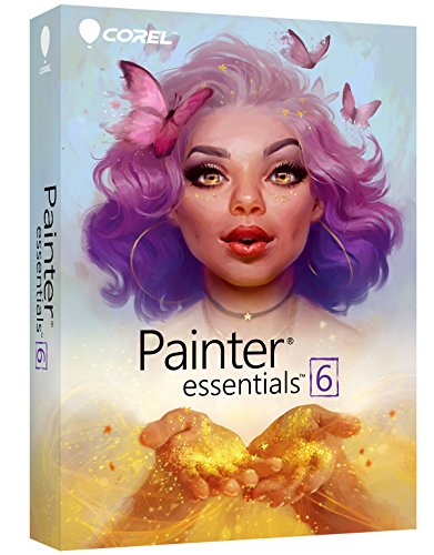 Corel Painter Essentials 6 Digital Art Suite [PC/Mac Disc] [Old Version}