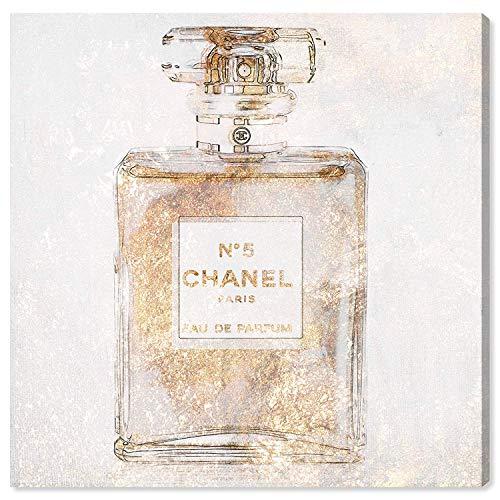 The Oliver Gal Artist Co. Parfum Glimmer   Modern Premium Canvas Art Prints, 12