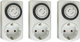 Set van 3 mechanische tijdschakelklokken – SCH-stekkers