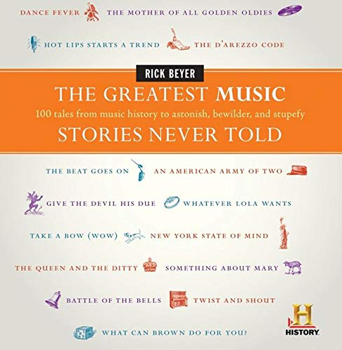 Greatest Music Stories Hardcover Book