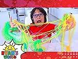 Ryan's DIY Slimy Worm Experiment!