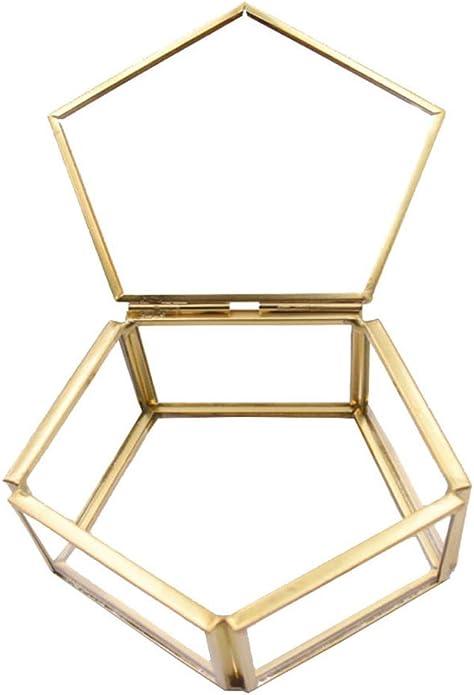 230 opinioni per Box Terrario Geometrico, Geometrico Vetro Terrario Pentagono Scatola Portagioie
