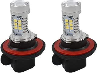 LABLT 2 Pack H13 6000K White 100W LED Headlights Bulbs for Polaris Ranger RZR 570S 800S 900S 1000 XP Turbo