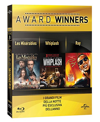 Les Miserables  / Whiplash / Ray - Oscar Collection (3 Blu-Ray) [Italia] [Blu-ray]