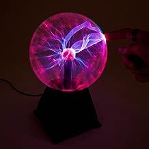 Regalo De Cumplea/ños,Rojo,4inch GYLEJWH USB Luz De La Bola De Plasma Globo Noche Touch Sensitive Rel/ámpago USB//con Pilas M/ágica Creativa Decoraci/ón De Escritorio