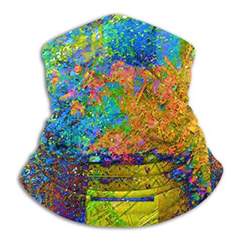 Dutrix - Gorro multifunción para la cara, casco de bicicleta para mujeres, bandana, bufanda, cráneo, protección facial, 3D, reutilizable, lavable, para exteriores 12 Talla única