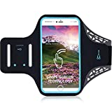 Running Armband Fitness Running For IPhone Android Sweatproof Sports Armband With Running Earphone And Key Holder And Extension Strap Suitable To 6.5 Inches (Color : B)