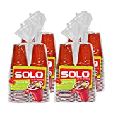 SOLO Cup Company Red Squared Plastic Party, 18 Ounce, 200 Count
