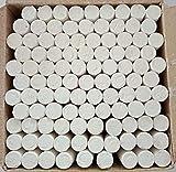 LEEBA Dustless Chalks White 100 pcs (Pack of 1)