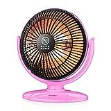 Mini Calefactor de la Cama de la Cama del pie Fuselaje de Pared de la Pared de 3 Segundos El Calentador de Alta Temperatura es Seguro y ambientalmente (Color : Rosado, Size : UK)