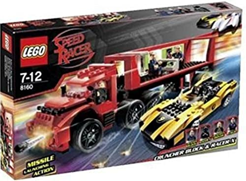 LEGO Speed Racers 8160 - Cruncher Block & Racer X