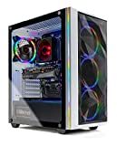 Skytech Chronos Gaming PC Desktop - AMD Ryzen 7 3700X 3.6GHz, RTX 3070 8GB, 16GB DDR4 3600, 1TB NVME, B550 Motherboard, 650W Gold PSU, Windows 10 Home 64-bit, White