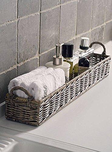 Riviera Maison - Rustic Rattan - Aufbewahrungskorb - Rectangular Basket - für Küche und Bad